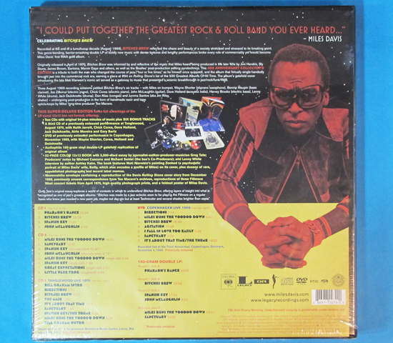 新品未開封◆MILES DAVIS BITCHES BREW 40TH◆COLUMBIA RECORDS2