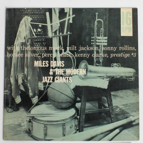 超レア16回転プロモ◆Miles Davis/ The Modern Jazz Giants◆