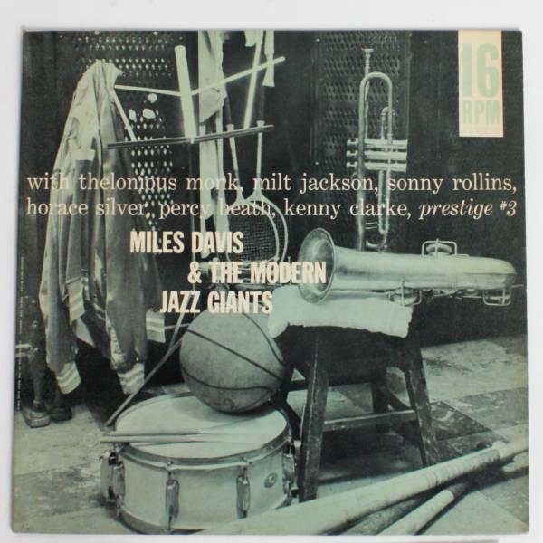 超レア16回転プロモ◆Miles Davis/ The Modern Jazz Giants◆