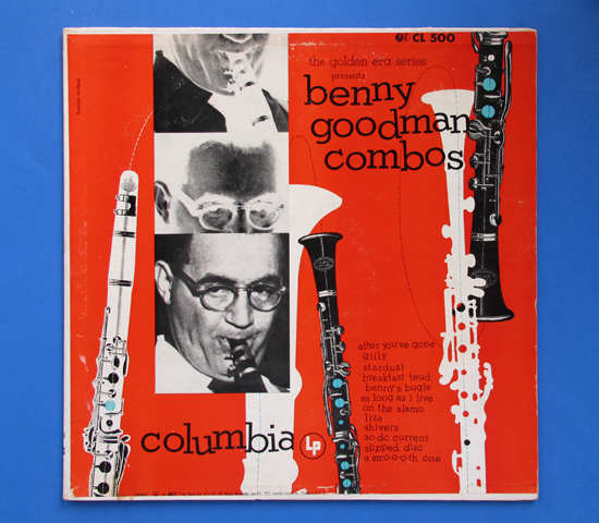 ◆BENNY GOODMAN COMBOS ◆ 6 EYES 米深溝