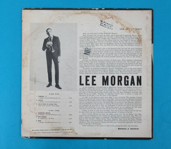 価格応談◆LEE MORGAN & ART BLAKEY他◆VEE JAY 米深溝2