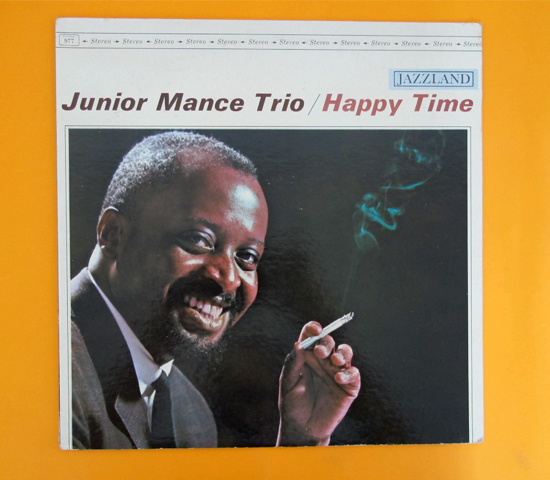 価格応談◆JUNIOR MANCE TRIO / HAPPY TIME ◆JAZZLAND 米