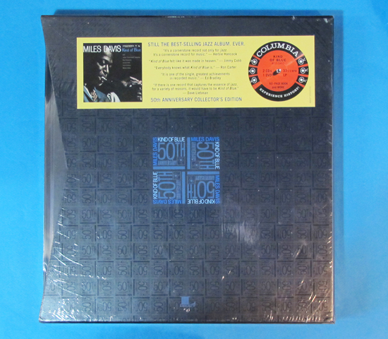 新品未開封◆MILES DAVIS KIND OF BLUE 50TH◆COLUMBIA 米深溝