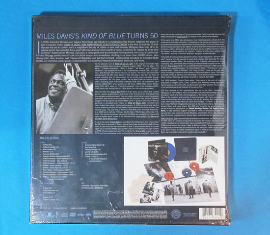 新品未開封◆MILES DAVIS KIND OF BLUE 50TH◆COLUMBIA 米深溝2