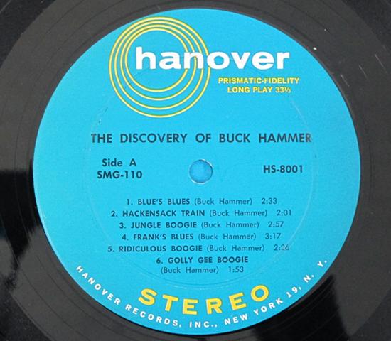 価格応談◆THE DISCOVERY OF BUCK HAMMER◆HANOVER 米深溝3
