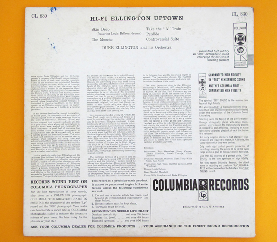 価格応談◆DUKE ELLINGTON AND HIS ORCHESTRA◆米 深溝 6EYES2