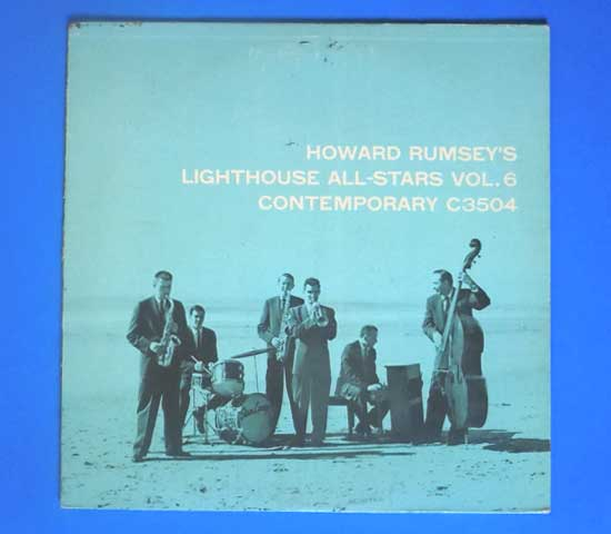 ◆HOWARD RUMSEY'S LIGHTHOUSE ALL STARS◆CONTEMPORARY 米!深溝