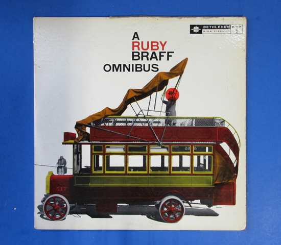 ◆RUBY BRAFF/OMNIBUS◆BETHLEHEM 米深溝 重量