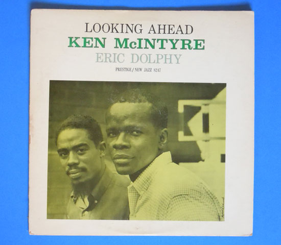 ◆KEN MC INTYRE/LOOKING AHEAD◆NEW JAZZ 米盤 RVG刻印