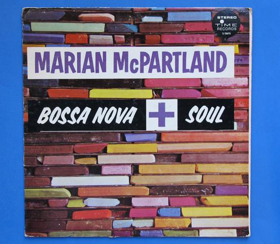 ◆MARIAN MCPARTLAND/BOSSA NOVA & SOUL◆TIME RECORDS 米深溝