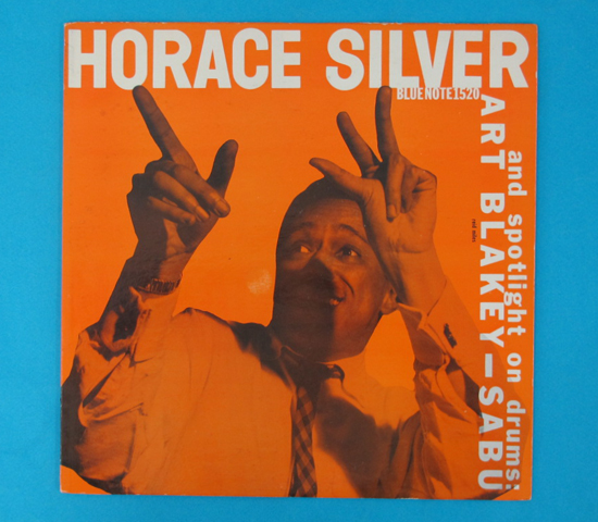 ◆HORACE SILVER&ART BLAKEY◆BLUE NOTE 米深溝RVG手書き 耳あり