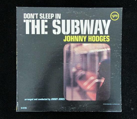 価格応談◆JOHNNY HODGES ◆VERVE 米 深溝 プロモ