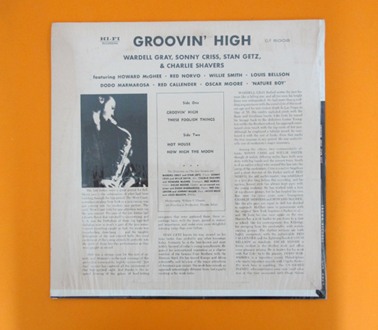 価格応談◆STAN GETZ/HOWARD McGHEE ◆ CLOWN 米 深溝2
