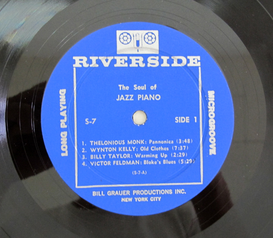 価格応談◆BILL EVANS/BARRY HARRIS ◆RIVERSIDE 米 深溝3