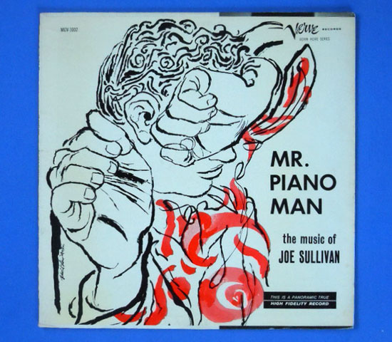 ◆JOE SULLIVAN/MR.PIANO MAN◆VERVE DOWN HOME 米!深溝2