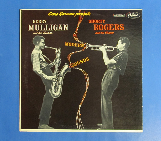 ◆GERRY MULLIGAN & SHORTY ROGERS◆CAPITOL 米盤 MONO