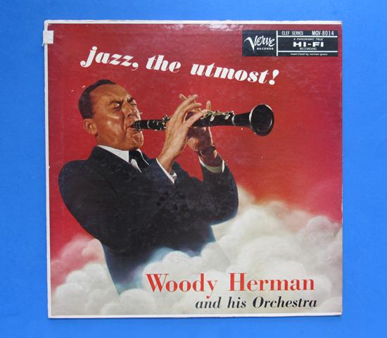 ◆WOODY HERMAN/JAZZ,THE UTMOST◆CLEF トランペット 米深溝