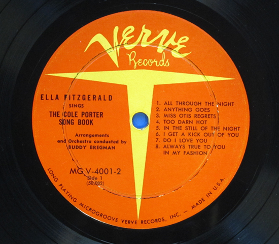 ◆2枚組◆ELLA FITZGERALD SINGS THE…◆VERVE 米深溝 重量3