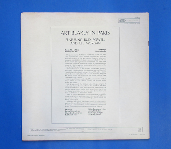 ◆ART BLAKEY & BUD POWELL & LEE MORGAN 他◆ EPIC 米盤2