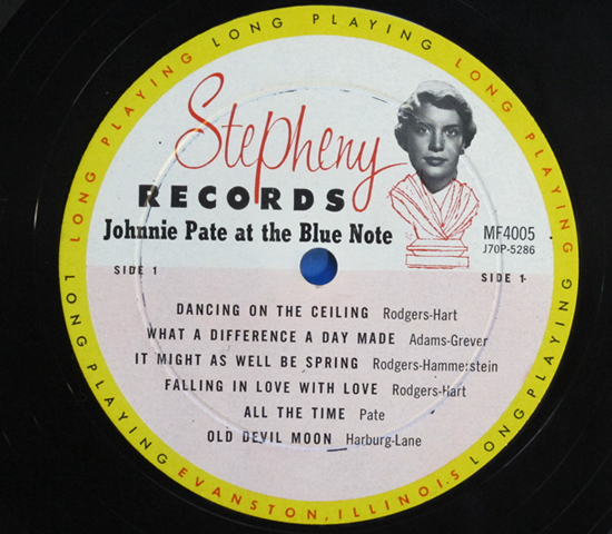 ◆JOHNNIE PATE&WILBUR WYNNE 他◆STEPHENY RECORDS 米深溝3