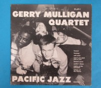 ◆10インチ◆GERRY MULLIGAN QUARTET◆PACIFIC JAZZ 米深溝
