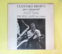 価格応談◆CLIFORD BROWN/ZOOT SIMS◆ PACIFIC JAZZ 米深溝