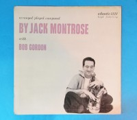 価格応談◆JACK MONTROSE & BOB GORDON◆ATLANTIC 黒ラベル