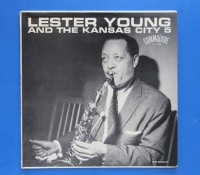 ◆LESTER YOUNG AND THE KANSAS CITY5◆COMMODORE 米深溝
