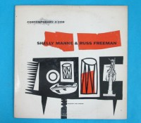 ◆10インチ◆SHELLY MANNE&RUSS FREEMAN◆CONTEMPORARY 米深溝
