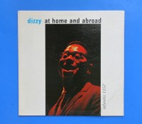 ◆DIZZY GILLESPIE/DIZZY AT HOME◆ATLANTIC 米深溝 黒ラベル
