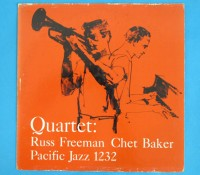 価格応談◆RUSS FREEMAN & CHET BAKER◆ PACIFIC JAZZ 米深溝