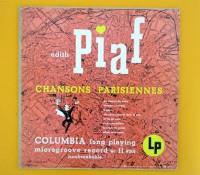 10インチ 価格応談 ◆EDITH PIAF / CHANSONS ◆COLUMBIA 米 深溝