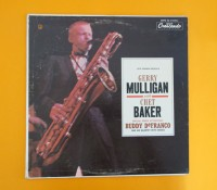 価格応談◆GERRY MULIGAN/CHET BAKER ◆GNP CRESCENDO 米 深溝