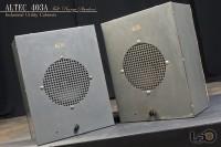 ALTEC 403A フルレンジ・ユニット + アルテックオリジナル工業用・キャビネット