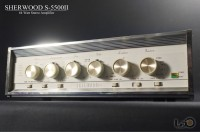 SHERWOOD S-5500II ◇シャーウッド 真空管プリメイン・ステレオ・アンプ◇