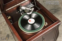 VICTOR Victrola VV-80 ◇ビクトローラ SPレコード用蓄音器◇