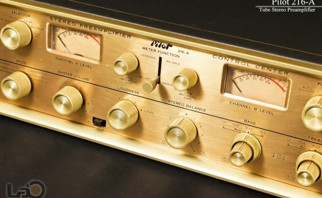 米国 Pilot 216-A Stereo Preamplifier ◇ <BR>パイロット 真空管 ステレオ・プリアンプ ◇