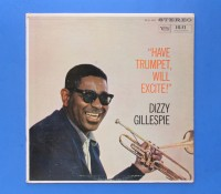 ◆DIZZY GILLESPIE / HAVE TRUMPET WILL EXCITE◆VERVE 米盤